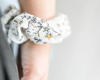 Moon and Stars Scrunchies! I love you to the moon and back scrunchies! Mommy and me scrunchies!