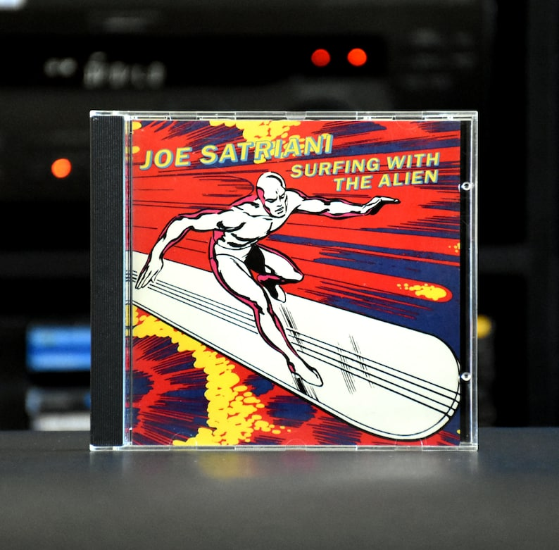 Surfing With The Alien By Joe Satriani Cd 1987 Relativity Records Mint Condition