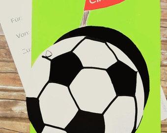 Einladung Kindergeburtstag Junge Fußball