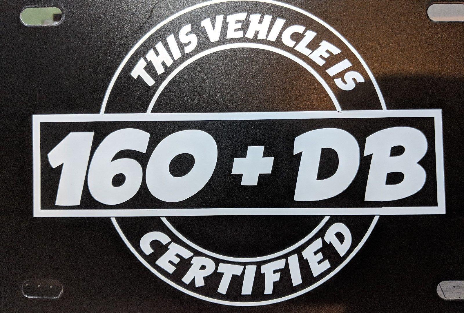Chevrolet Bowtie Logo Plastic License Plate Frame Decal Vinyl