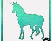 Unicorn 7 - Durable and reusable stencil for DIY painting, crafting and scrapbooking projects