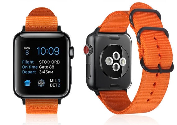 Orange Apple Watch Band for Apple Watch Series 1 Series 2