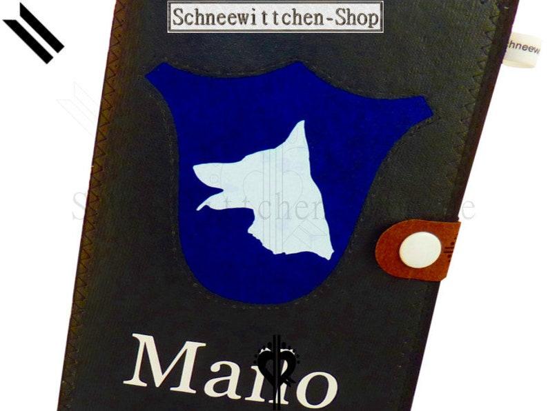 German Shepherd Dog Passport Sleeve Mailo Vaccination Passport cover EU Pet Passport Cover
