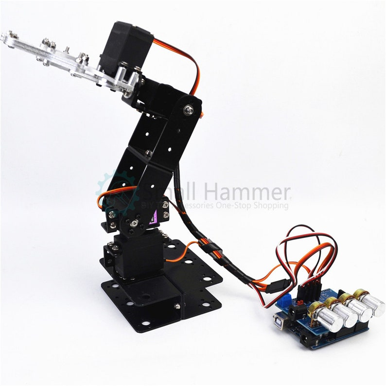 Other Toys & Games DIY 4DOF Mechanical Robot Arm Claw Kit for