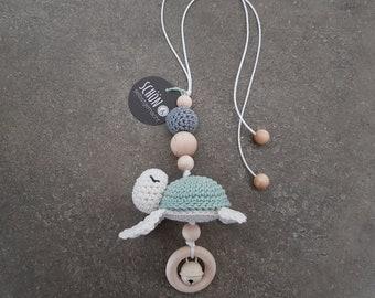 Maxi Cosi pendant crocheted, free color choice, beautiful and homemade
