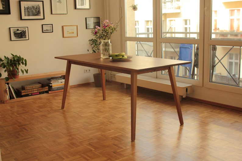 Bureau table à manger en bois de table vieux berlin planche etsy
