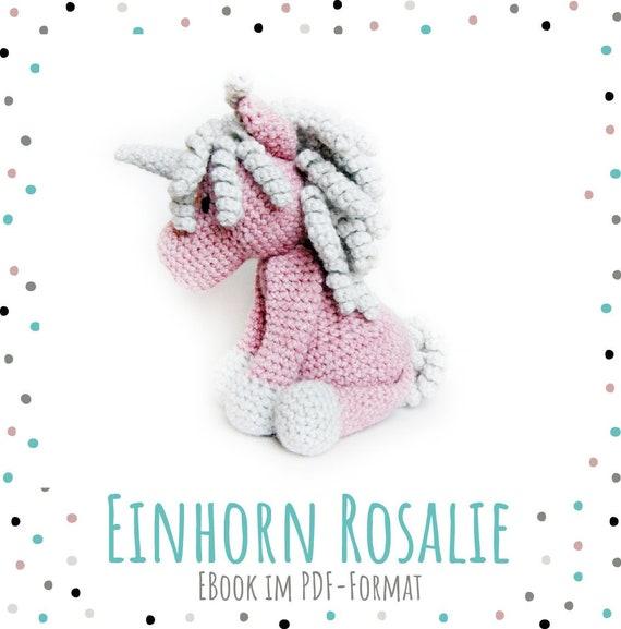Ebook Einhorn Rosalie Sofortdownload Sprache De Etsy