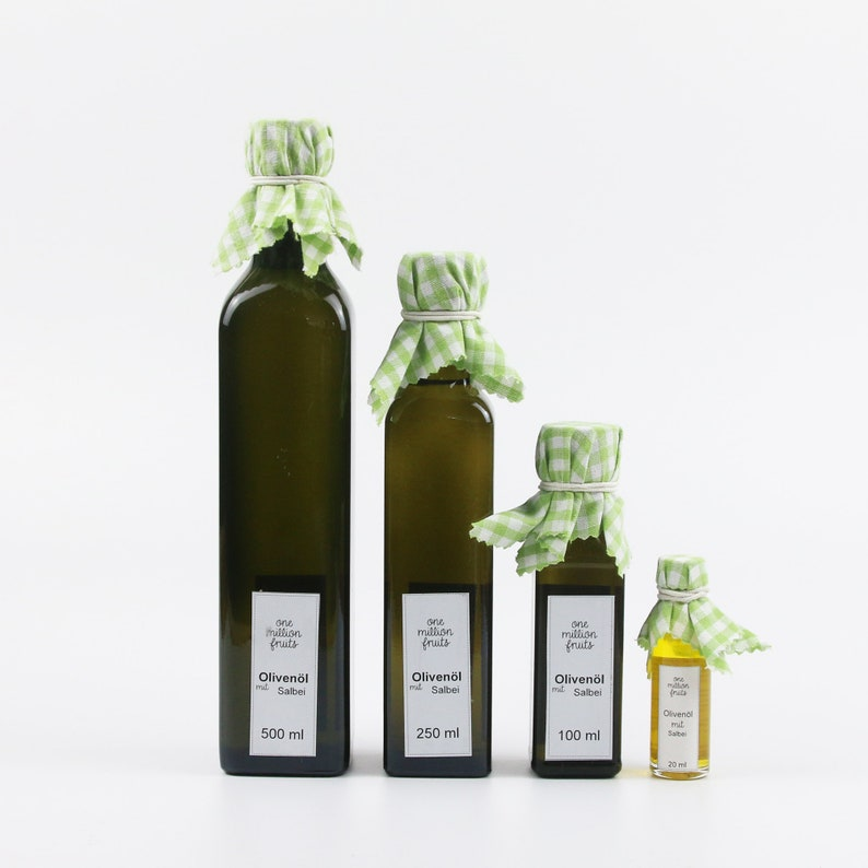 Olive oil with sage 20 ml/100 ml/250 ml/500 ml/1 litre