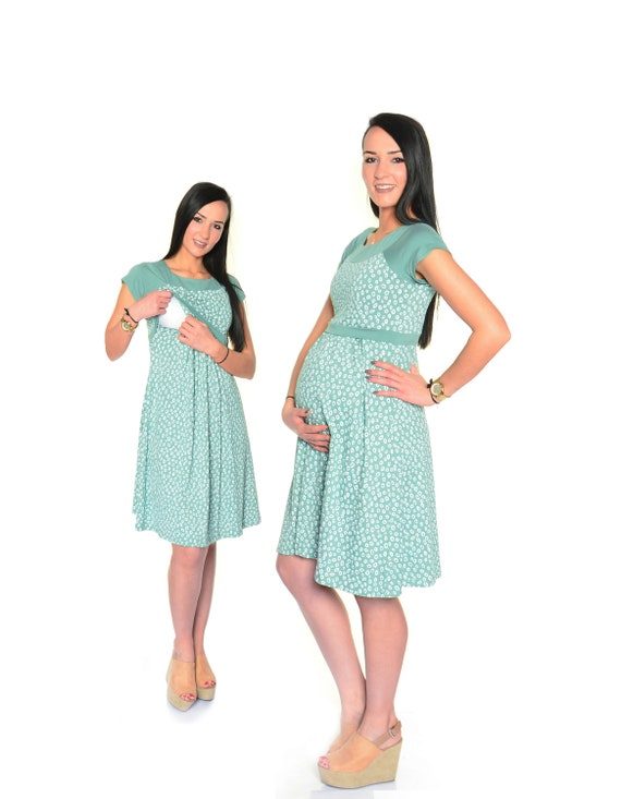3in1 Umstandskleid & Stillkleid Umstandsmode Schwangerschaft | Etsy