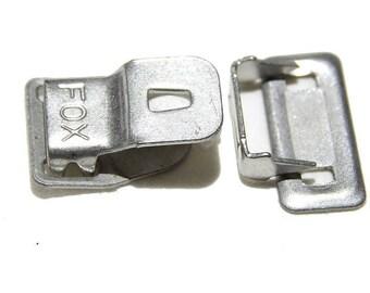 0.40EUR/pc 4 pcs. Trouser hook with bridge eyelets button closure