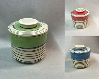 French water butter can for 250g in different patterns