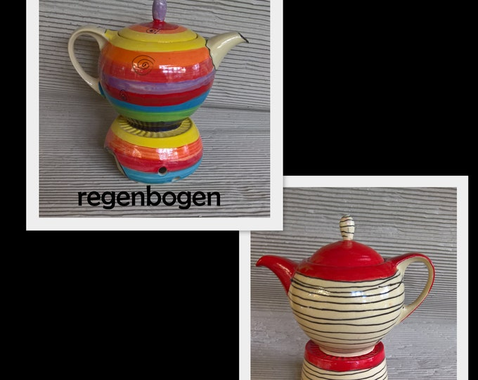 "Cog ""Bolle"" with Stövchen ceramic 1.2 liters"