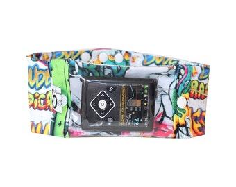 Sports band, with viewing window, insulin pump, pump pocket, belly tape, graffiti, insulin pump bag, Insulin pump Belt