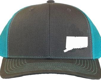 Connecticut Snapback Hat - Grey Aqua cdac12ce42ee