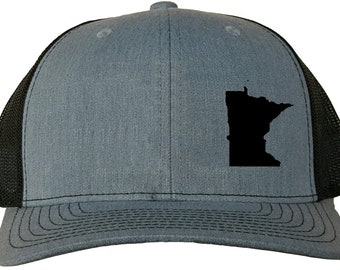 4818062869c5c Minnesota State Snapback Hat - Grey Black