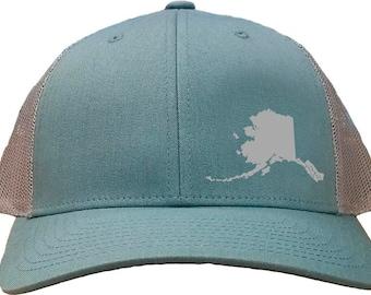 665f8e14f45 Alaska Snapback Hat - Smoke Blue Aluminum
