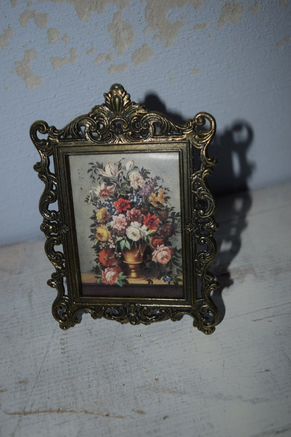 kleiner Vintage Barock Bilderrahmen | Etsy