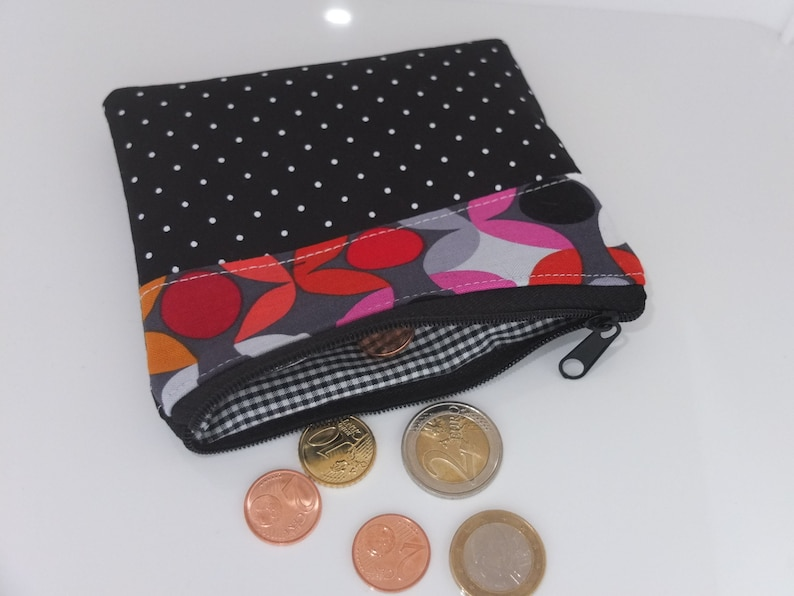 purse makeup bag makeup wallet purse Mini bag * graphic * for money small bag first aid cards