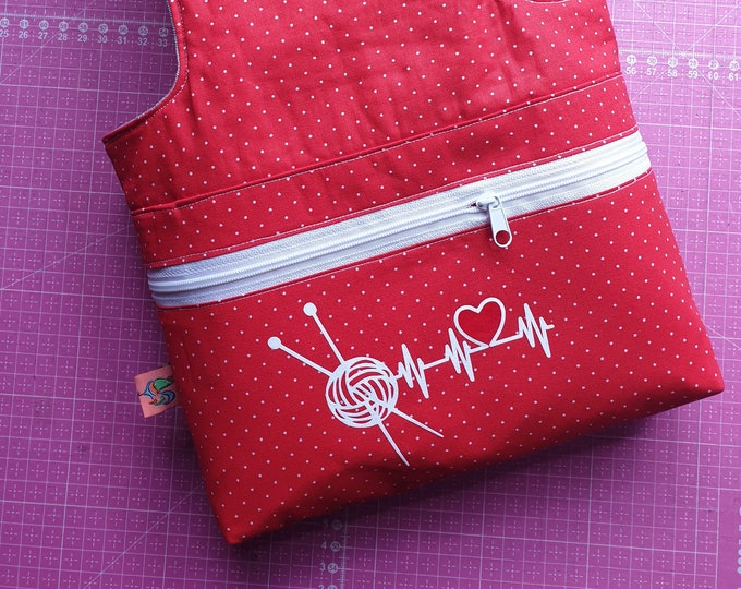 Project bag / embroidery bag / crochet bag / wool bag