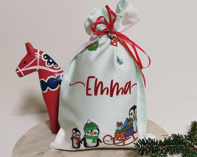 Gift bag / Name / limited / 23 pieces / Sack / St. Nicholas / Christmas / Personalized St. Nicholas bag / Christmas bag / Name