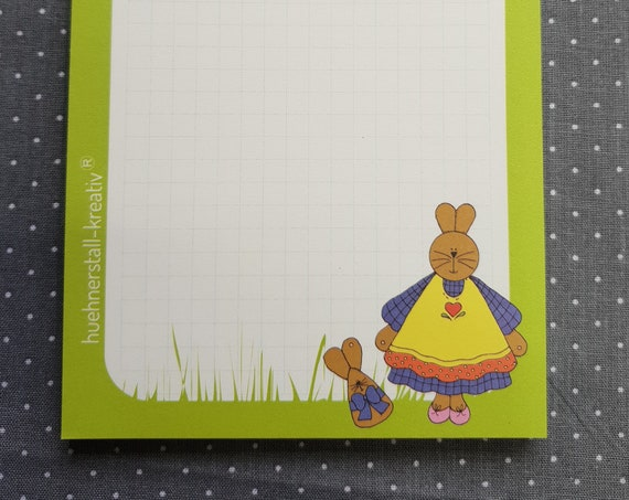 Notepad DIn A6/Easter/Writing Block/Illustration/Print