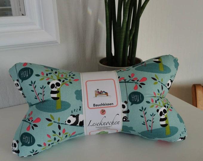 Single piece reading bone / reading pillow / relax pillow / relaxation / backrest / reading / neck pillow / panda