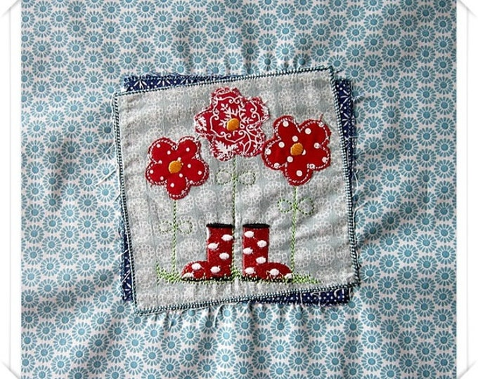 "Embroidery file-""On the Flower Meadow"""