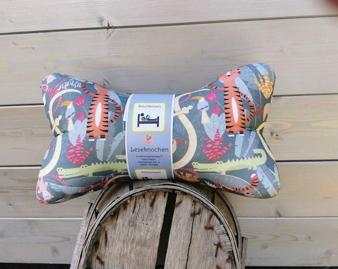 Reading Bones / Reading Pillow / Animals / Lion / Pillow / Side Sleeper / Relaxation / Backrest / Reading / Neck Pillow / Jungle