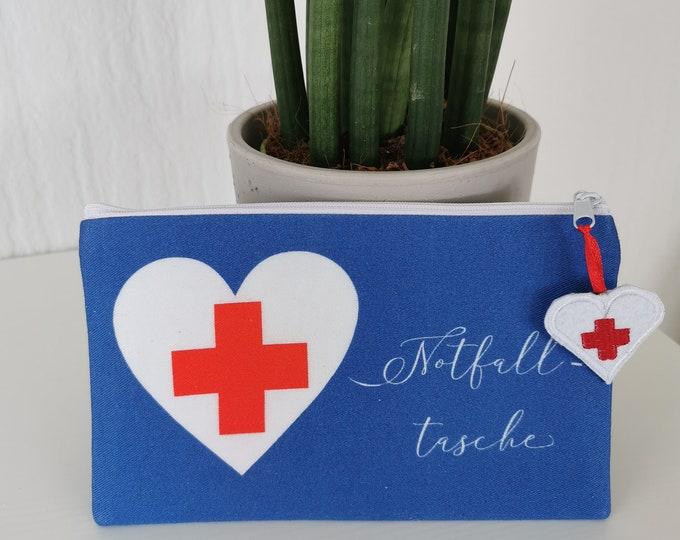 Kosmetiktasche / Medikamententaschen / Medizin / Kosmetik / Erste Hilfe / Notfalltasche / Notfall / Krimskrams