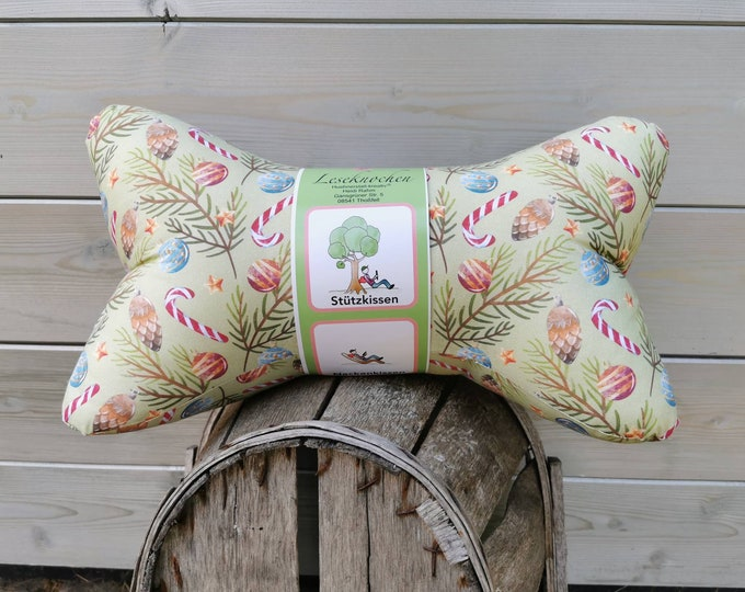 Reading bones / reading pillows / relax pillows / relaxation / backrest / reading / neck pillow / Christmas / children / unique / mini / large