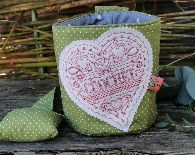 Lint bag / dirt bag / waste bag / waste container