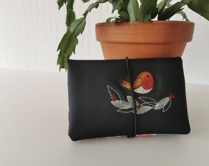 Tobacco bags / tobacco bags / tobacco / rotary bag / cigarette case / rotary bag / pocket for rotary tobacco / robin / butterfly