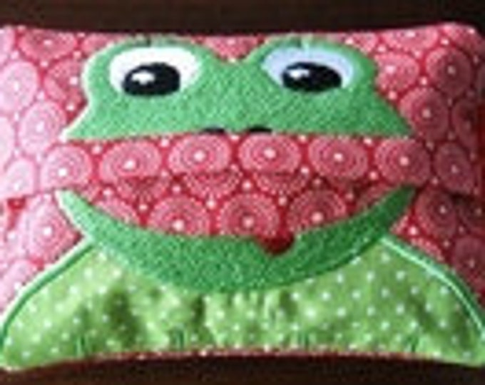 """Embroidery file-""""Handkerchief eater frog""""-ith"""