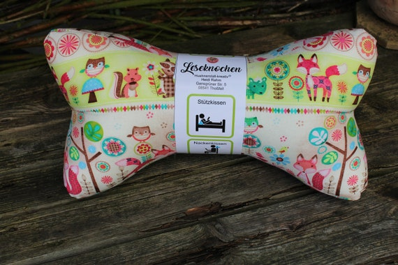 Reading Bones / Reading Pillows / Animals / Flowers / Pillows / Side Sleepers / Relaxation / Backrest / Reading / Neck Pillow / Graphic Pattern