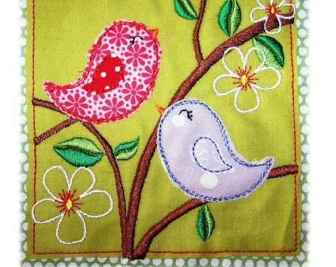 Spring Embroidery File