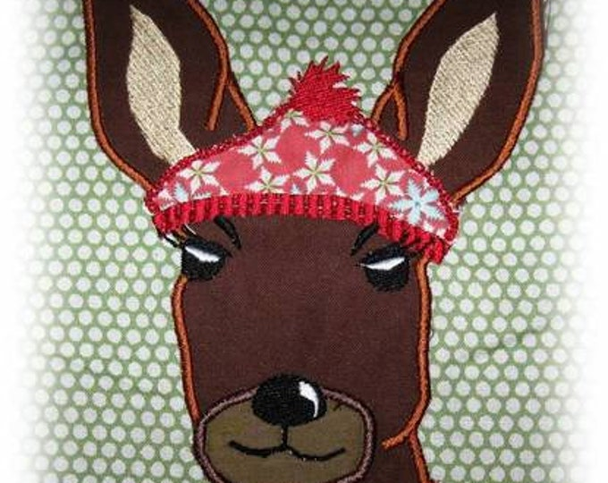 """Embroidery file """"Wintereh with Cap"""""""