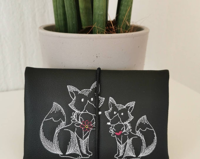 Tobacco Bags / Tobacco Bags / Tobacco / Changing Bag / Cigarette Case / Changing Bag / Pocket Rotary Tobacco / Doodle / Fox