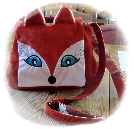 "Stick file + ebook + pattern Bag ""Fox"""