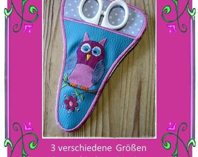 Embroidery file-Scissor bag