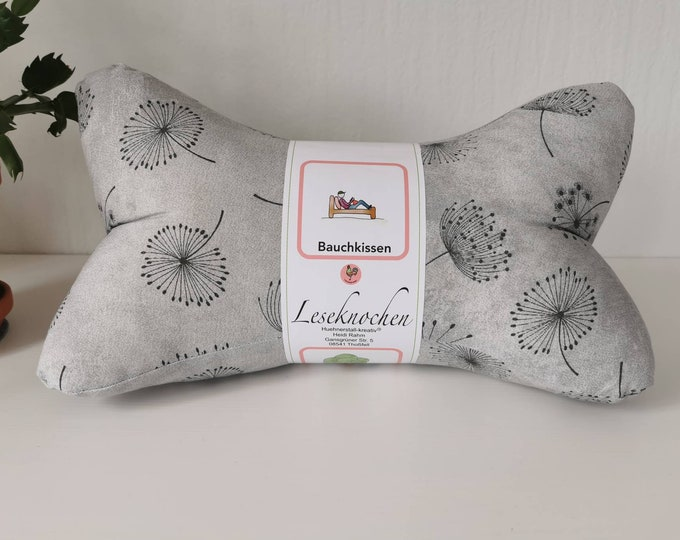 Reading bones / reading pillows / relax pillows / relaxation / backrest / reading / neck pillow / pusflower / children / unique / mini / large