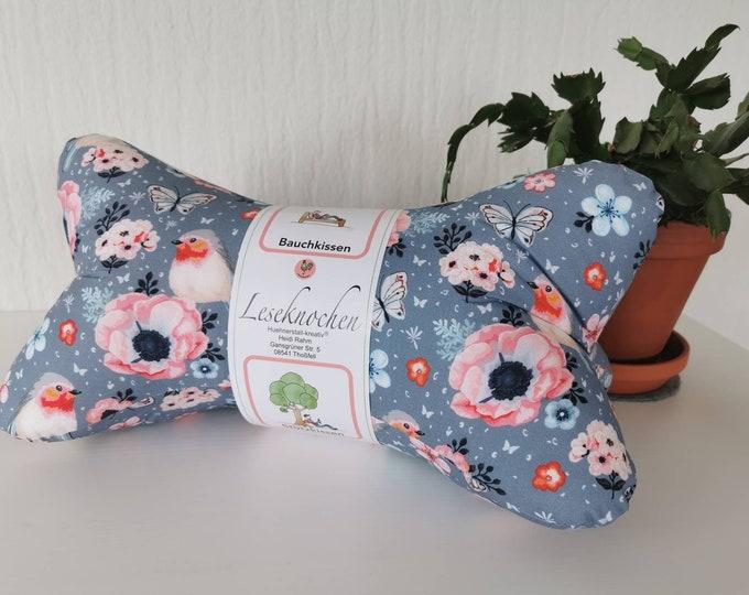 Reading bone / reading pillow / pillow / side sleeper / relaxation / backrest / reading / neck pillow / robin