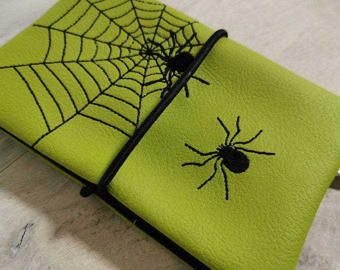 Tobacco Bags / Tobacco Bags / Tobacco / Lathe Bag / Cigarette Case / Lathe Bag / Bag for Rotary Tobacco / Spider Web / Spider / Autumn