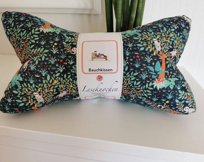 Reading bone / reading pillow / pillow / side sleeper / relaxation / backrest / reading / neck pillow / sloth on tree