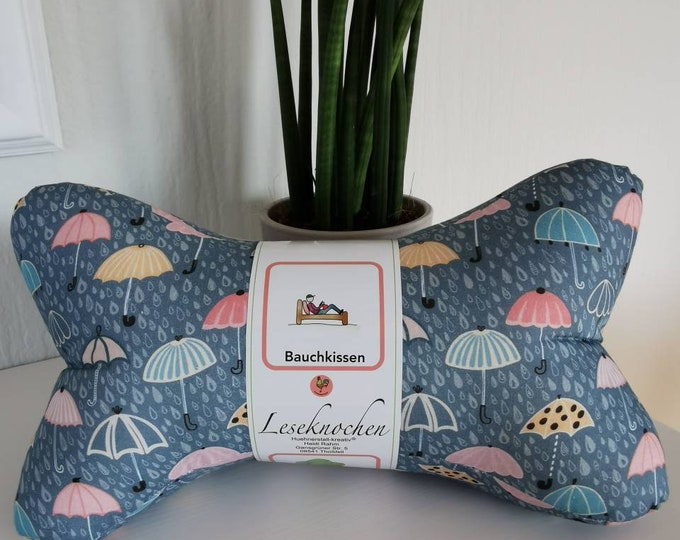 Reading Bones / Reading Pillow / Rain / Pillow / Side Sleeper / Relaxation / Backrest / Reading / Neck Pillow / Umbrella