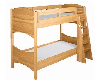 Etagenbett Versetzt : Holz hochbett etsy