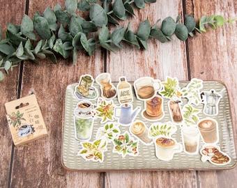 Sticker Coffee, 40 pieces