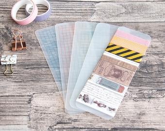 Washi tape holder, 2x6inch, Washi Tape Organizer, 4 colors