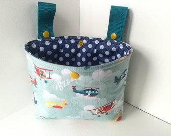 Handlebar bag for balance bike / bicycle aircraft