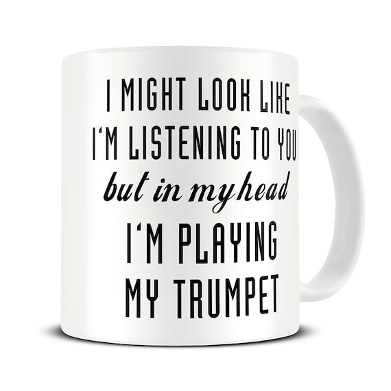 05aba3f5 Trumpet Gifts Trumpet Mug Trumpet Player Gift Coffee Mug | Etsy