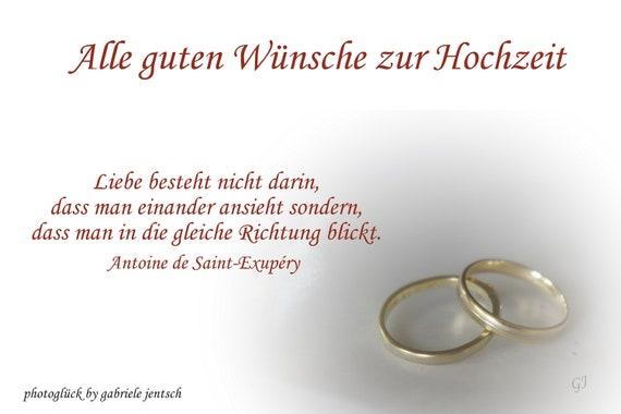 Congratulatory Card Wedding Marriage Rings